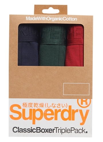 Superdry Classic Boxer TriplePack Tighs