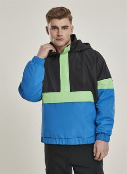 Urban Classics 3-Tone Neon Mix Pull Over Jacket