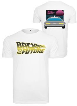 Back To The Future Car Logo Tee