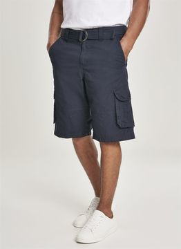 Belted Cargo Shorts Ripstop