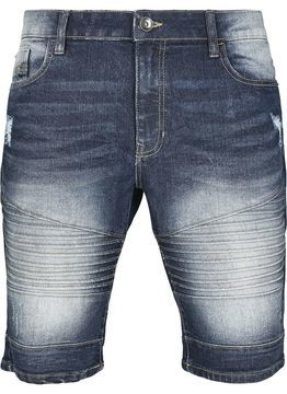 Southpole Biker Denim Shorts