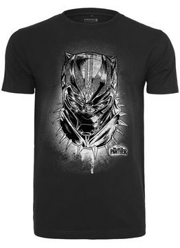 Black Panther Spray Headshot Tee
