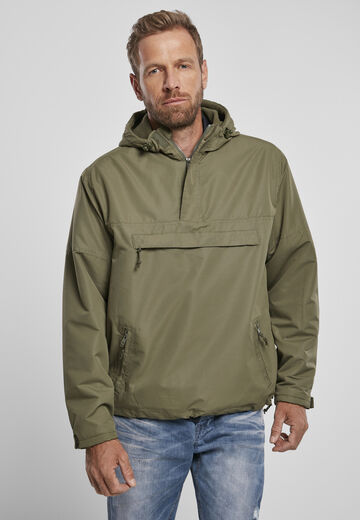 Brandit Fleece Pull Over Windbreaker