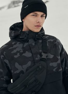 Urban Classics Camo Mix Pull Over Jacket
