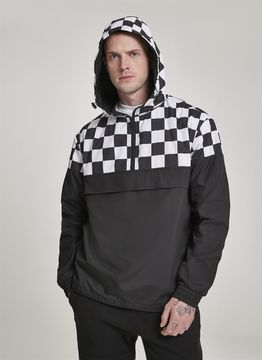 Urban Classics Check Pull Over Jacket