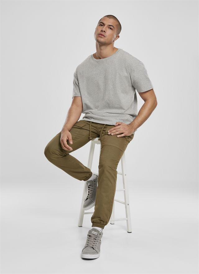 Front Pocket Cargo Jogging Pants