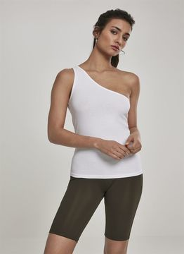 Urban Classics Ladies Ladies Asymmetric Top