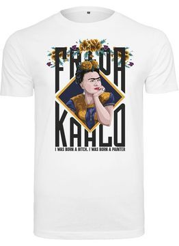 Merchcode Ladies Ladies Frida Kahlo Born Tee