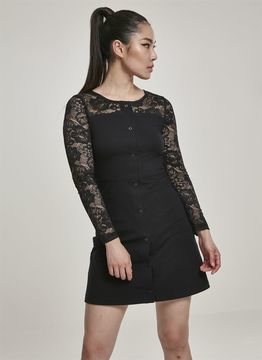 Urban Classics Ladies Ladies Lace Block Dress