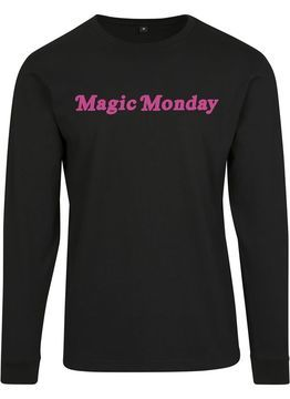 Mister Tee Ladies Ladies Magic Monday Slogan Longsleeve