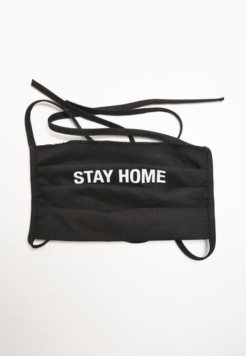Mister Tee Stay Home Face Mask 2-Pack