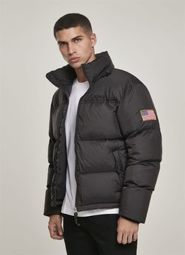 Mister Tee NASA Two-Toned Puffer Jacket