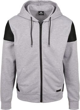 Southpole Neoprene Block Tech Fleece Full Zip Hoodie