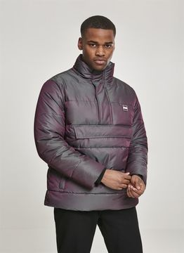 Urban Classics Shimmering Pull Over Puffer Jacket
