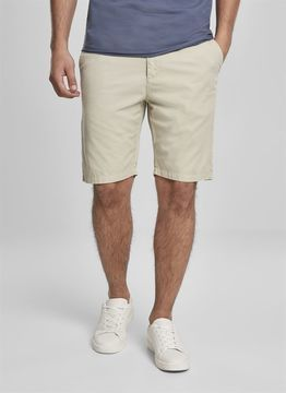 Urban Classics Straight Leg Chino Shorts with Belt