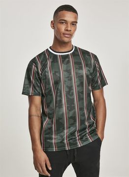 Southpole Thin Vertical Stripes AOP T-Shirt