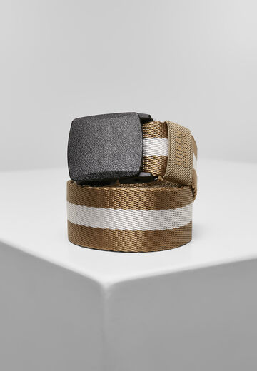 Urban Classics Centre Stripe Belt