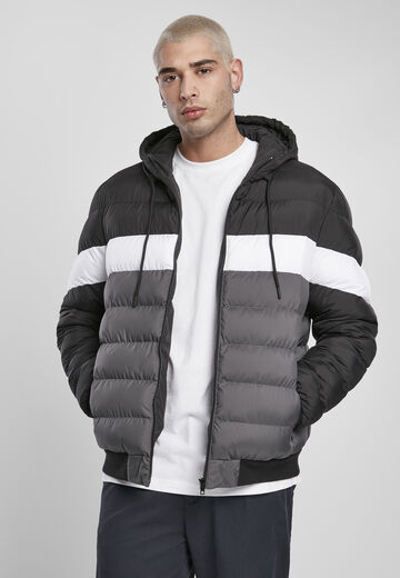 Urban Classics Colorblock Bubble Jacket