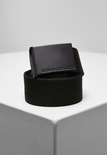 Urban Classics Coloured Buckle Canvas Belt