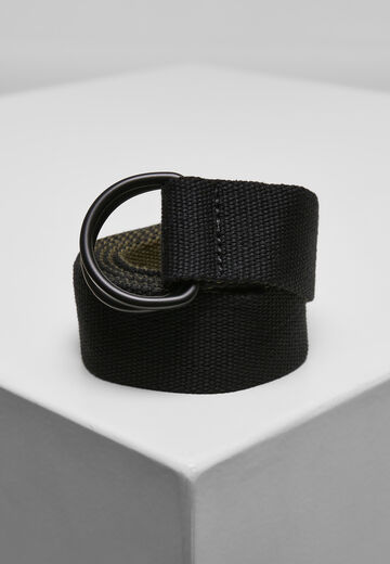 Urban Classics Easy D-Ring Belt 2-Pack