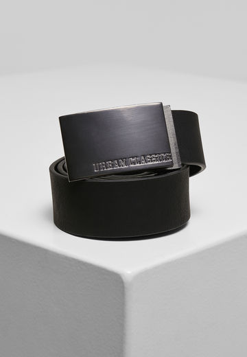Urban Classics Imitation Leather Business Belt