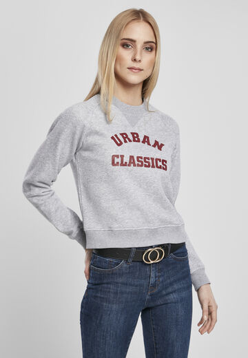 Urban Classics Ladies Ladies Short College Crew