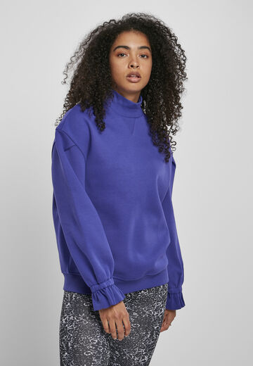 Urban Classics Ladies Ladies Turtleneck Crew