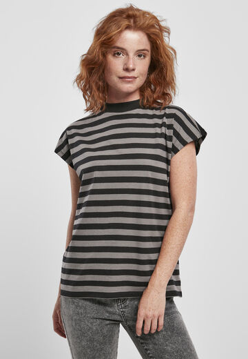 Urban Classics Ladies Ladies Y/D Stripe Tee