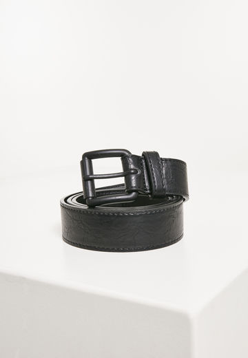Urban Classics Marmorized PU Leather Belt