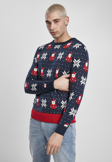Urban Classics Nicolaus And Snowflakes Sweater