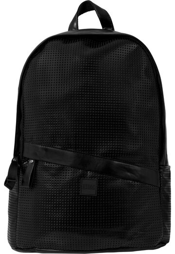 Urban Classics Perforated Leather Imitation Backpack
