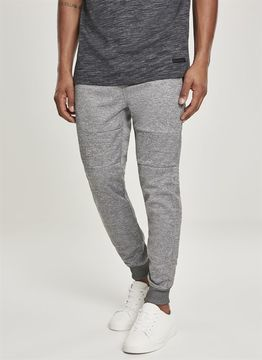Southpole Zipper Pocket Marled Tech Fleece Jogger