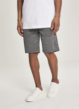 Southpole Zipper Pocket Marled Tech Fleece Shorts