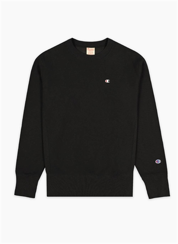 Crew Neck fra Champion i Sort