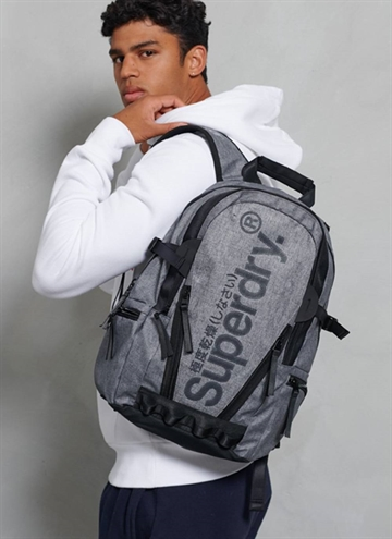 Superdry Coated Marl Tarp Taske