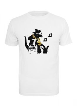 Banksy HipHop Rat Tee