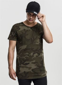 Camo Shaped Long Tee