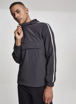 Urban Classics Crinkle Nylon Pull Over Jacket