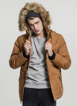 Urban Classics Heavy Cotton Imitation Fur Parka