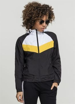 Urban Classics Ladies Ladies 3-Tone Windbreaker