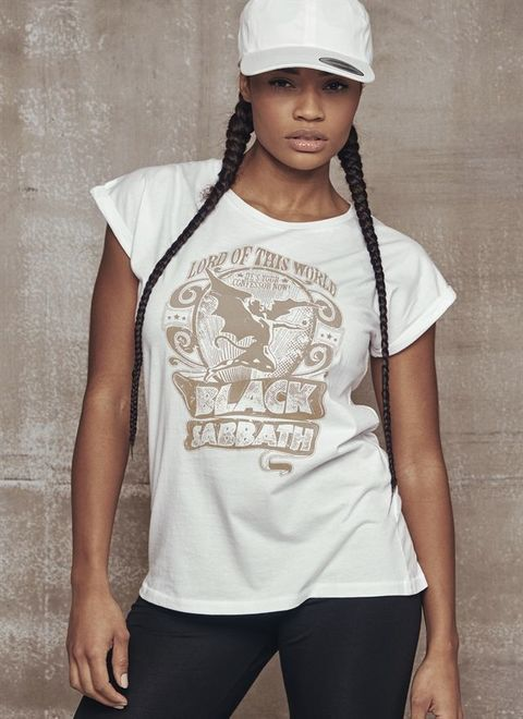 Ladies Black Sabbath LOTW white Tee