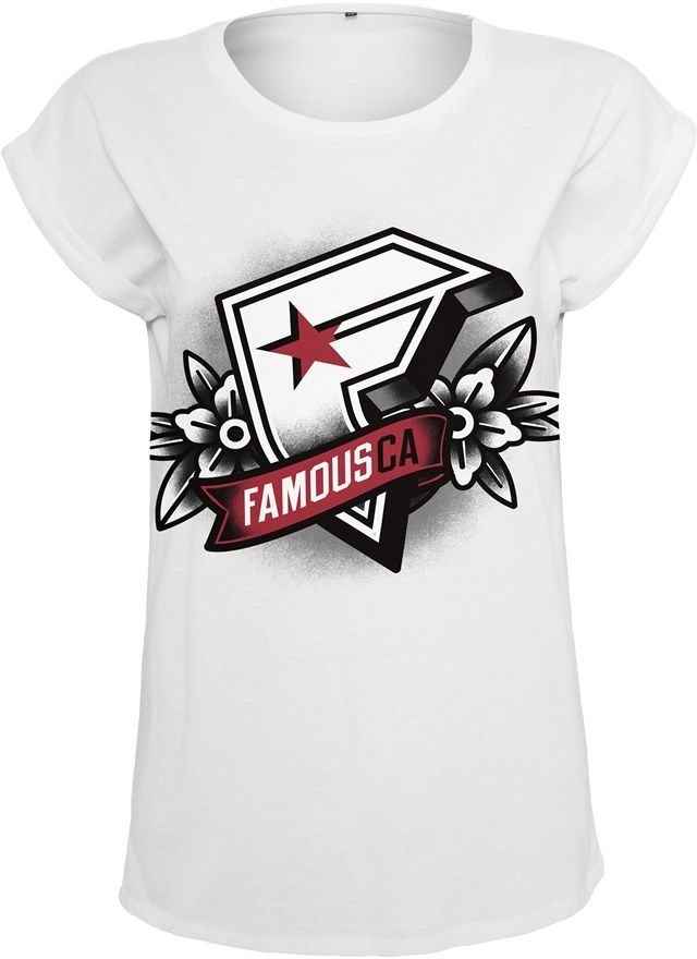 Ladies Famous CA Tee