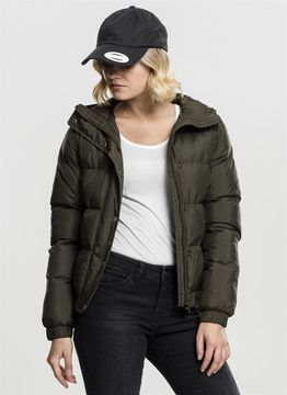 Urban Classics Ladies Ladies Hooded Puffer Jacket