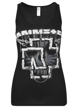 Ladies Rammstein In Ketten Tanktop