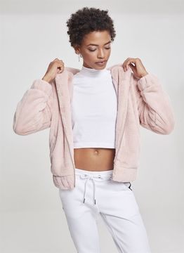 Urban Classics Ladies Ladies Teddy Jacket