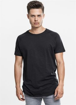 Long Shaped Slub Raglan Tee