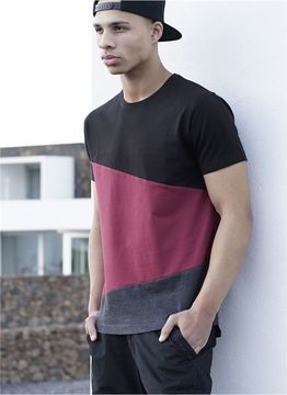 Long Shaped Zig Zag Tee