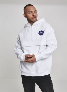 NASA Chest Embroidery Pull Over Hoody