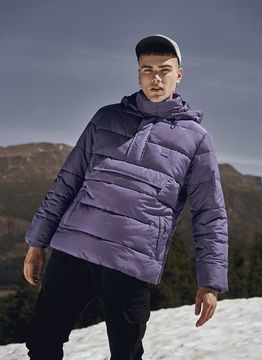 Urban Classics Pull Over Puffer Jacket