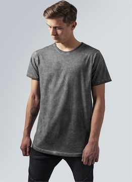 Shaped Long Cold Dye Tee
